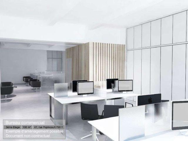 PARIS 11 - 75011 <br>Bureaux &agrave; vendre 268 m²