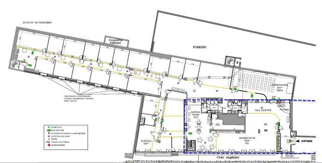 Bureaux et Activités à vendre 75012 PARIS 12 Plan1