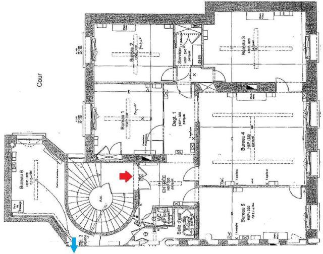 locaux professionnels vendre paris 08 75008 115 m 4607. Black Bedroom Furniture Sets. Home Design Ideas
