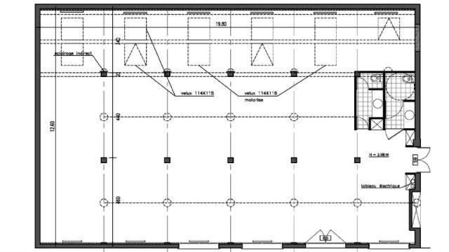 Bureaux et Activités à vendre 75011 PARIS 11 Plan1