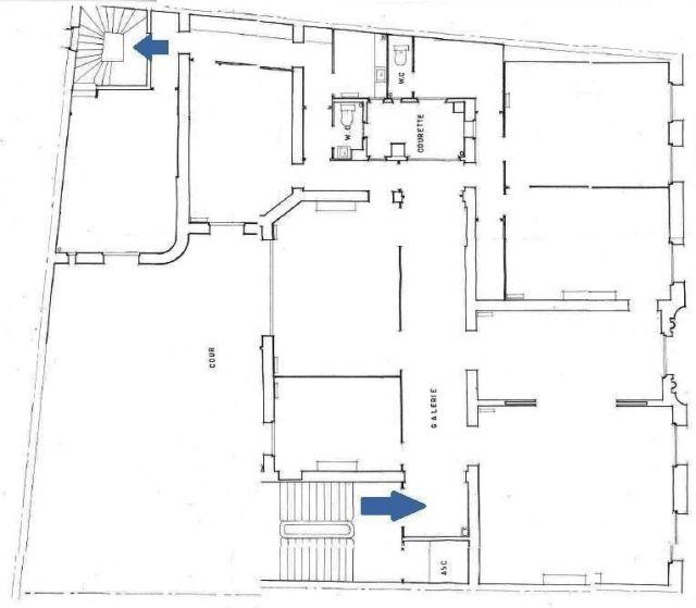 locaux professionnels vendre paris 16 75016 249 m 4934. Black Bedroom Furniture Sets. Home Design Ideas
