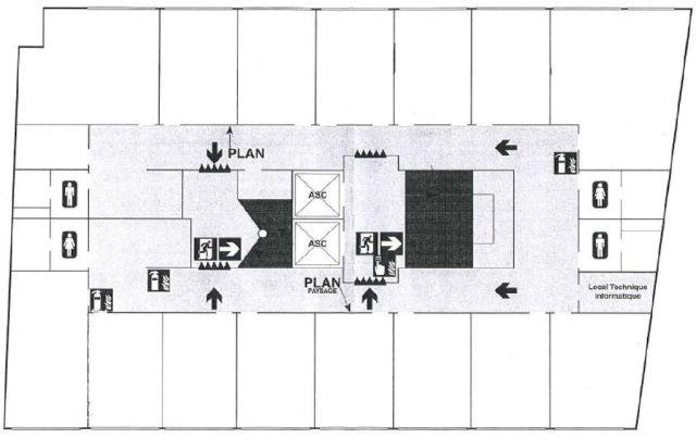 Bureaux à vendre 75013 PARIS 13 Plan1