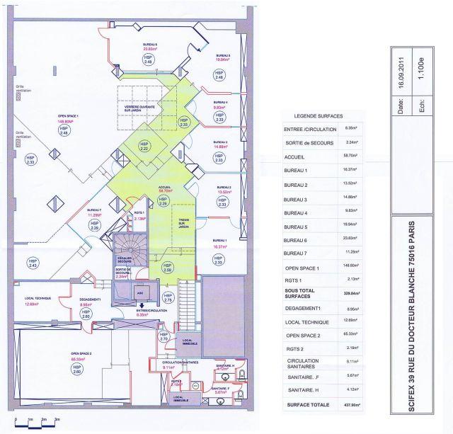 Bureaux et locaux commerciaux vendre paris 16 75016 661 m 2186 - Achat locaux commerciaux ...