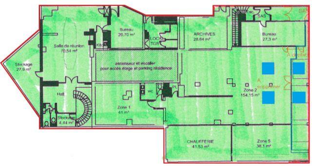 bureaux louer paris 12 75012 1 246 m 5111. Black Bedroom Furniture Sets. Home Design Ideas