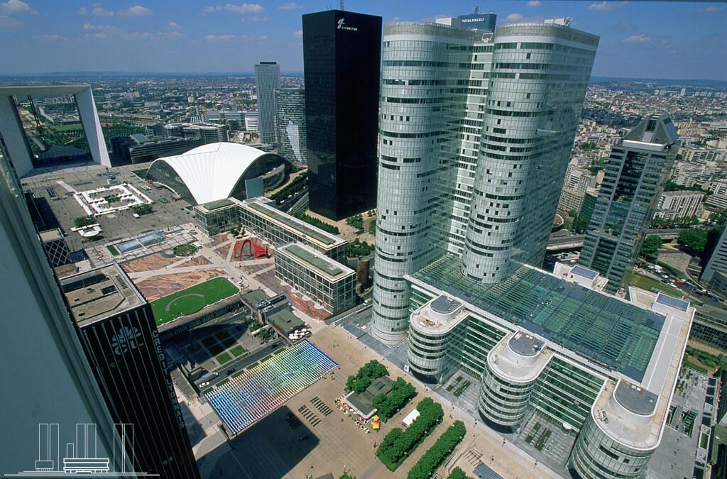 Immobilier d'entreprise : 1,3 milliard d'euros dans le Coeur Défense