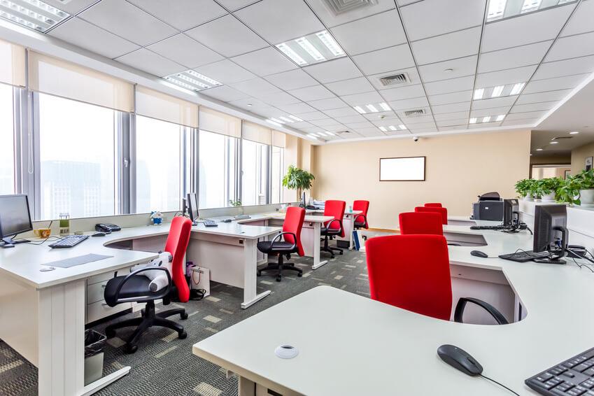 Aménagement de bureau : les couleurs, sources de productivité